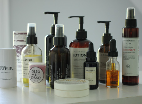 my top 12 natural beauty products