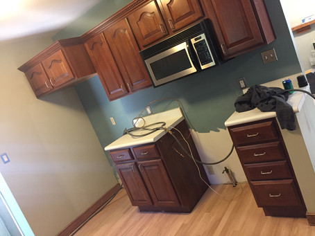 kitchen : before + after