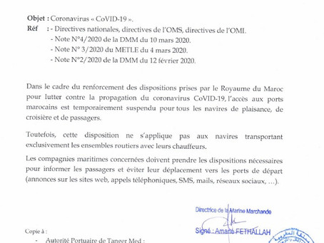 "Note n°5/2020 - Coronavirus ""CoVID-19"""
