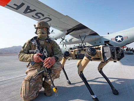 Des chiens robots pour défendre une base de l'armée américaine
