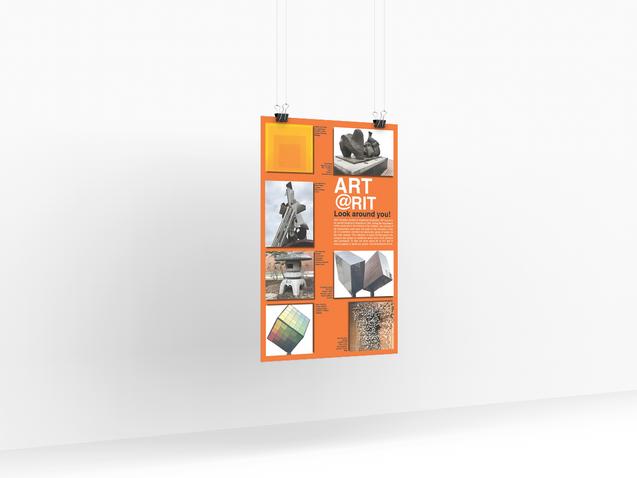 Art @ RIT poster design concept