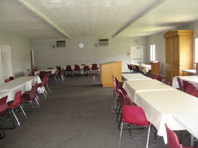 Spacious air-conditioned Shul