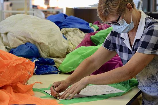 Voile de parachute recyclée Enmode-survi