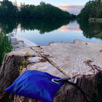 Kit de survie randonnée - bleu