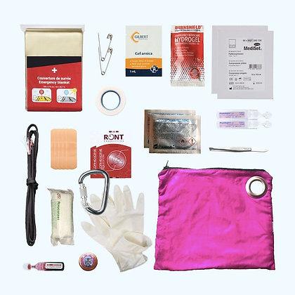 Kit 1er secours -rose