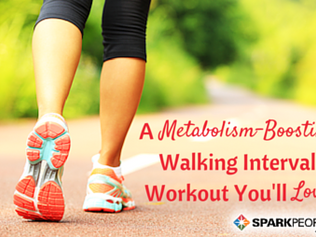 Challenge Every Muscle with This Walking Interval Workout