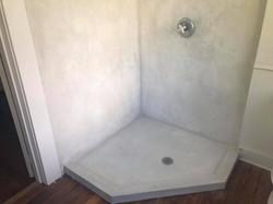 Stucco Shower pan and walls