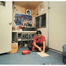 Migrant Woman in Korea. 2005