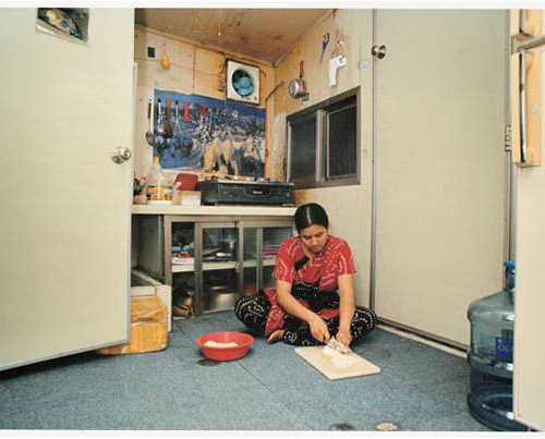 Migrant Woman in Korea. 2005