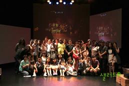 Movement Workshop for Refugee Children 2011
