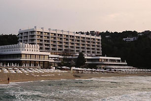 Hotel am Strand in Bulgarien