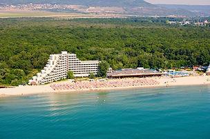 Unmittelbar am Strand gelegenes Naturreservat von Albena