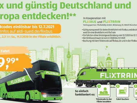 Flixbus Aktion: Beliebige Fahrt innerhalb Europas für nur 9,99€