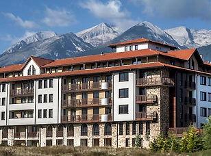 Hotel im Pirin Gebirge