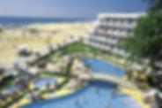 Ausblick vom Kaliopa Hotel Albena