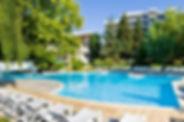Pool vom Hotel Sandy Beach in Albena