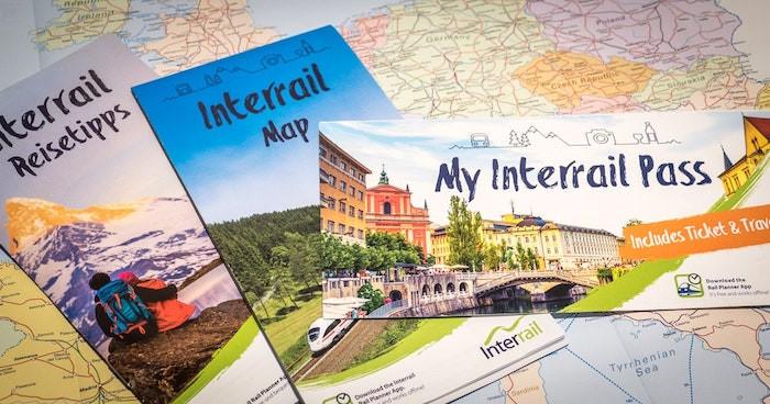 Interrail Pass Zug Europa