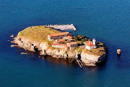 Schwarzmeerinsel Saint Anastasia Bulgarien