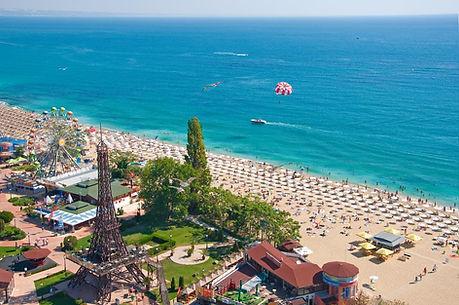 Luftaufnahme vom Goldstrand Bulgarien