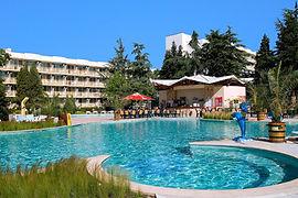 Pool vom Hotel Malibu in Albena