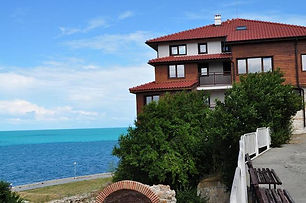 Villa Hotel mit Meerblick