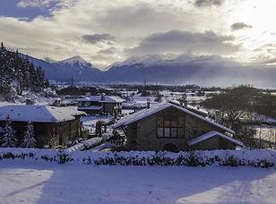 Chalet Apartments im Schnee