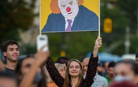 Proteste in Bulgarien: Eine Bildergalerie