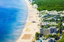 Albena Strand in Bulgarien