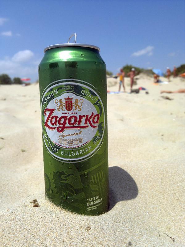 Zagorka Bier Bulgarien