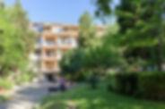 Parkanlage vom Hotel in Nessebar