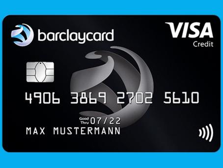 Dauerhaft kostenlos: Barclaycard Visa mit 0€ Jahresgebühr und mit 50€ Startguthaben
