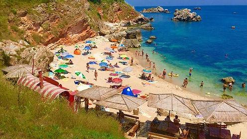 Badebucht in Bulgarien
