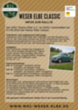 Weser Elbe Classic Poster 2