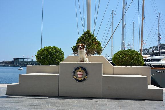 Becks verbrachte seinen 2. Geburtstag in Monaco !!