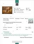 Certificate Nasser Ovissi -Warrior Horse