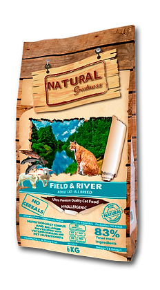 Receta Field and River - Pienso para gato