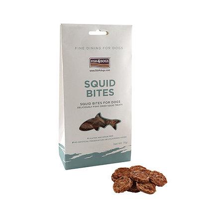 Squid Bites galletas naturales de calamar