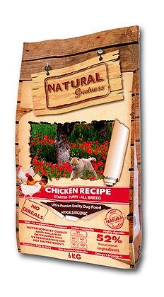 Receta pollo (Cachorros) - Pienso para perro