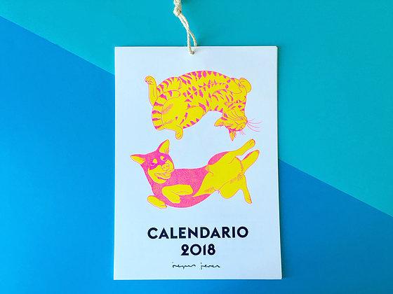 Calendario ilustrado Reyes Jerez