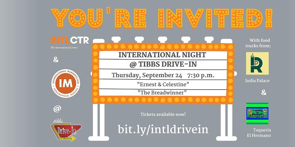 International Night at Tibbs Drive-In
