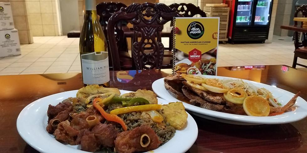 Dinner Tour Stop at Bon Appetit Haitian Restaurant