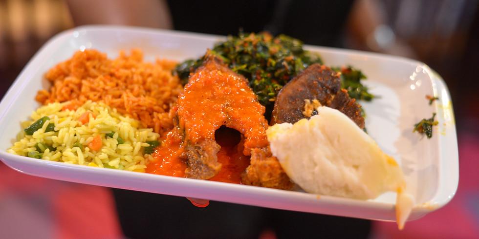 Dinner Tour Stop at Eko African Cuisine