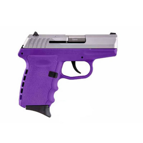 SCCY 9MM Pistol Purple Frame