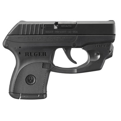Ruger LCP 380 Auto Pistol Red Laser