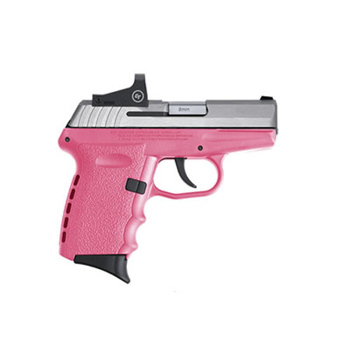 SCCY 9MM Semi Auto Pistol w/CT Red Dot