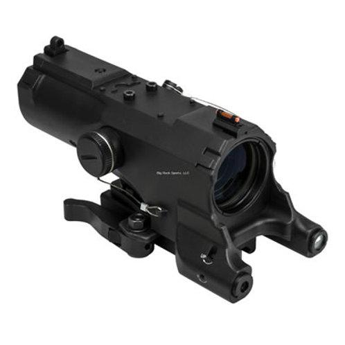 NcSTAR 4X34mm Tactical Scope w/Green Laser & Light