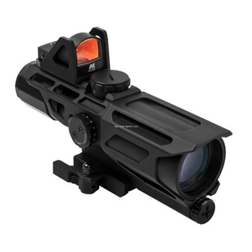 NcSTAR GEN3 3-9X40mm scope with Red Dot Micro