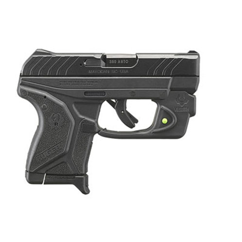 Ruger LCP II 380 Auto Pistol With Green Laser