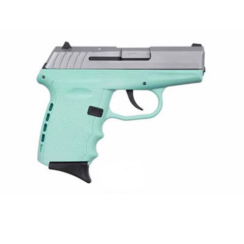 SCCY 9MM Pistol Teal Frame