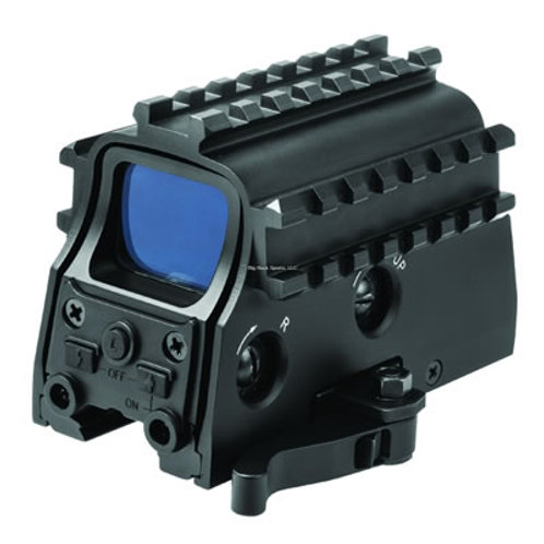 NcSTAR Tri-Rail Green Dot Sight w/Red Laser